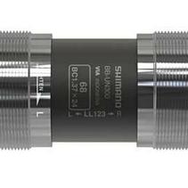Shimano, BB-UN300 XL118, Square Taper BB, British, 73mm, : 118mm, Silver