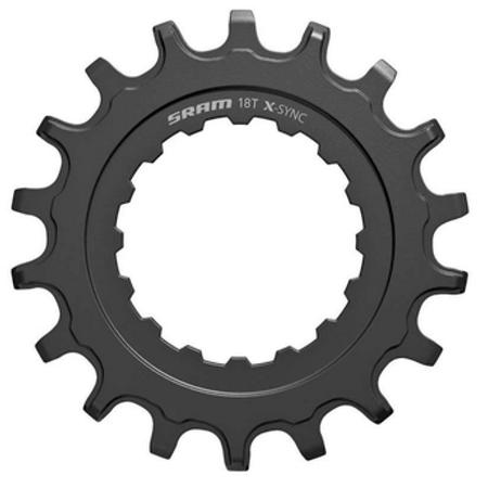 Sram SRAM, X-Sync, Chainring for Bosch motors, 18T