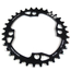 NSB NSB Variable Tooth Chainring, 4 Bolt, 104 BCD, 34 Tooth, Black
