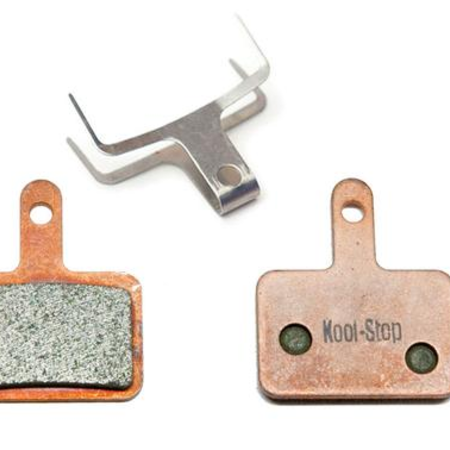 Kool-Stop Kool-Stop Shimano Sintered M575/M495 Disc Brake Pads Copper Plate #KS-D620S