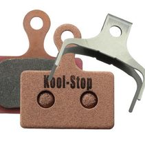 Kool-Stop Shimano Sintered Direct Mount RS505/RS805 Road Disc Brake Pads Copper Plate #KS-D625S