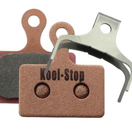 Kool-Stop Kool-Stop Shimano Sintered Direct Mount RS505/RS805 Road Disc Brake Pads Copper Plate #KS-D625S