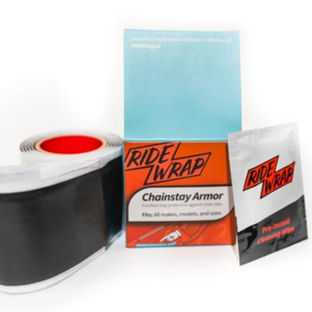Ridewrap RideWrap Chainstay Armor - Matte Black