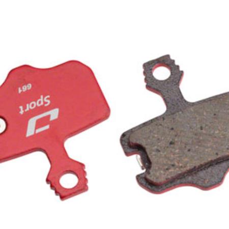 Jagwire Sport Semi-Metallic Audible Replacement Disc Pads for Avid Elixir