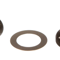 SRAM Self-Extracting Crank Arm Bolt Kit - M18/M30, DUB, Steel, Black