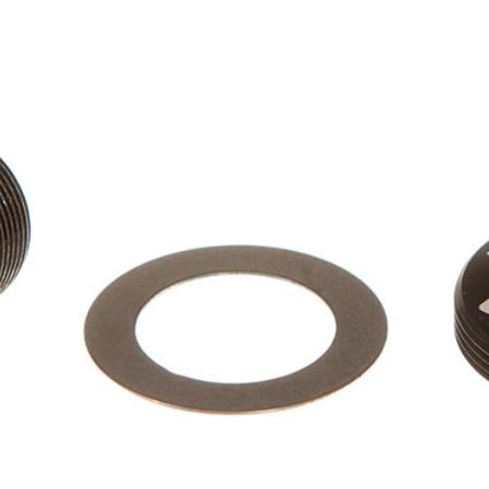Sram SRAM Self-Extracting Crank Arm Bolt Kit - M18/M30, DUB, Steel, Black