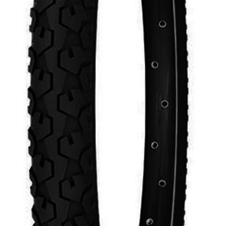 Michelin, Country Junior, 16x1.75, Wire, Clincher, 22TPI, 29-58PSI, Black