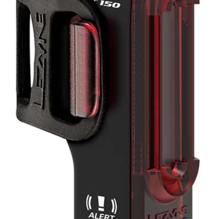 Lezyne Lezyne Strip Alert Drive Taillight 150 - Black