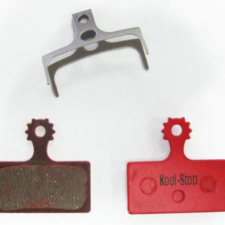 Kool-Stop Shimano Organic M9000/M8000 Disc Brake Pads Steel Plate #KS-D635