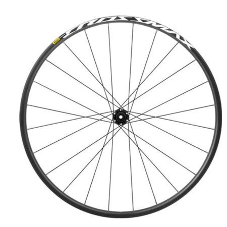 MAVIC MAVIC WHEEL REAR CROSSMAX 27.5 BOOST 6B HG