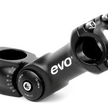 EVO, Satri Compact, Adjustable Stem, Diameter: 28.6mm, Length: 95mm, Steerer: 1-1/8'', Black