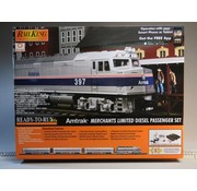 MTH MTH : O Amtrak Pass Set