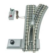 MTH MTH-40-1055 - MTH : O RealTrax 0-54 RH Switch