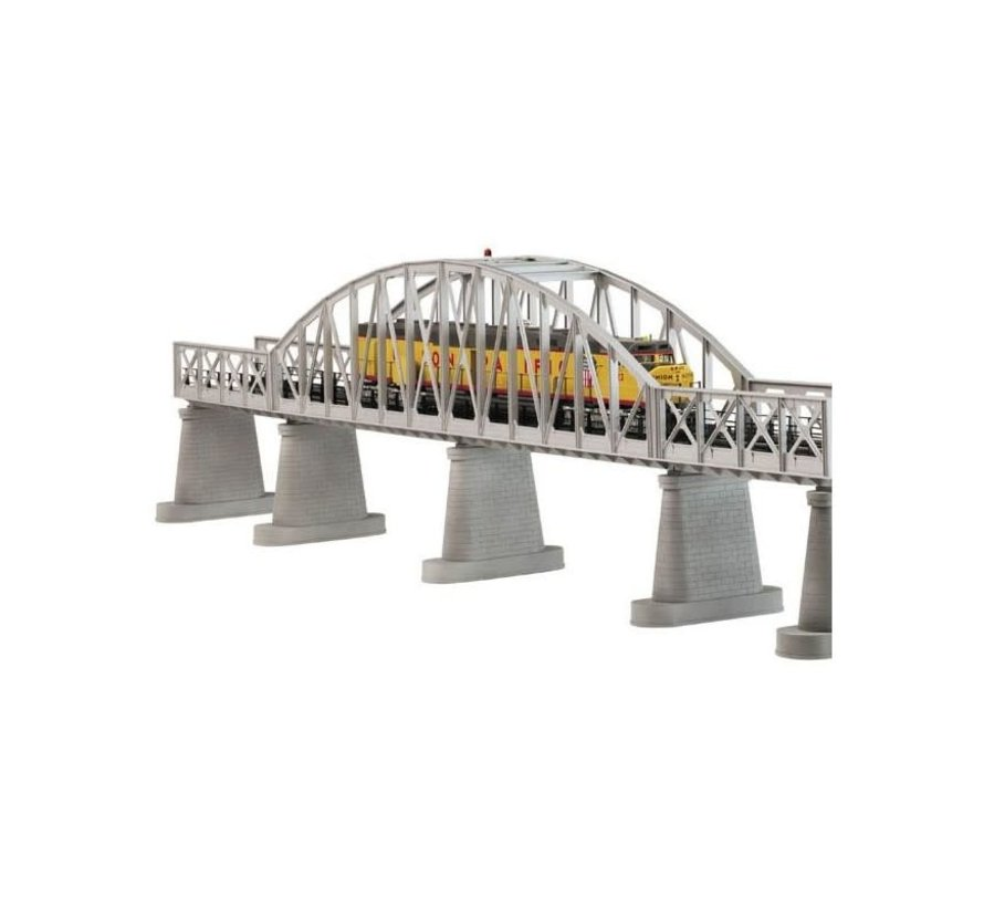 MTH : O Steel Bridge Silver (New)