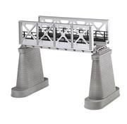 MTH MTH-40-1102 - MTH : O Steel Bridge Girder Silver (New)