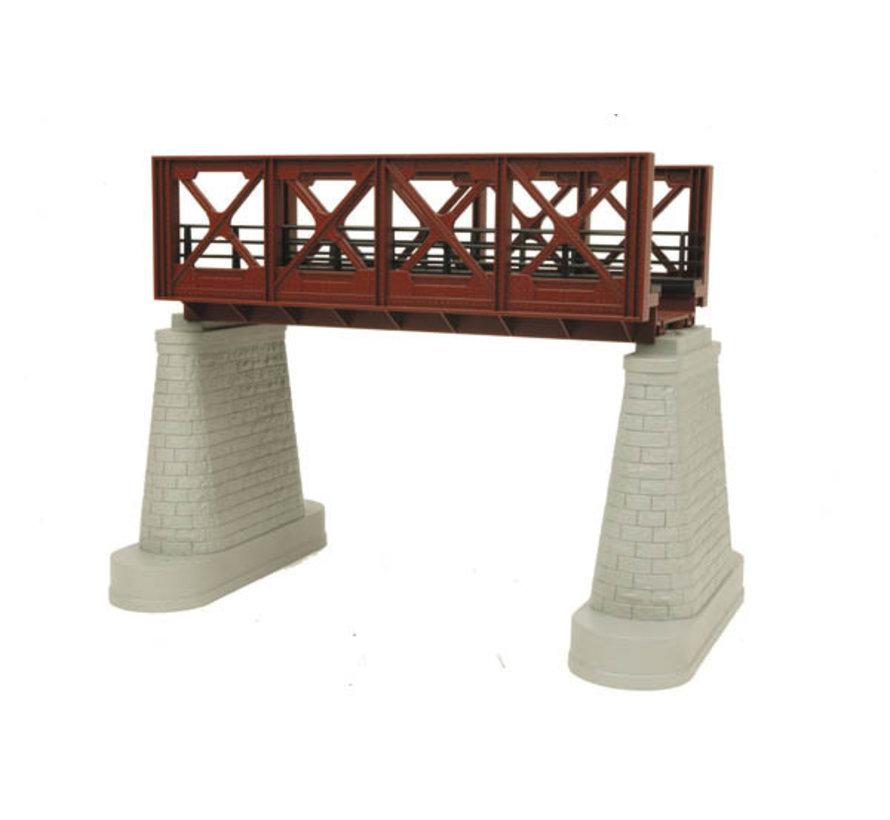 MTH : O Steel Bridge Girder Rust (New)