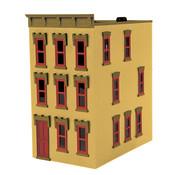 MTH MTH-30-90377 - MTH : O 3-Story Yellow Brick
