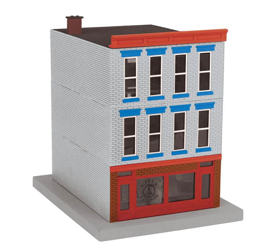 MTH : O 3-story Building