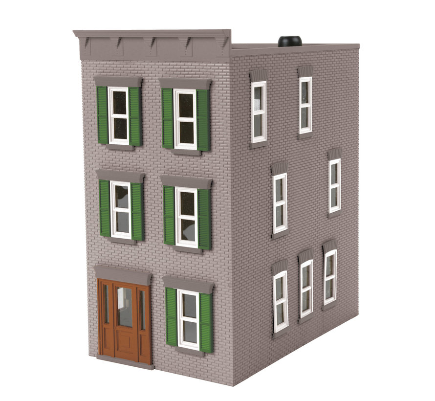 MTH : O 3 story town house gray