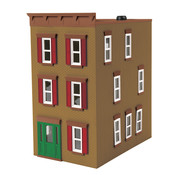 MTH MTH-30-90508 - MTH : O 3 story town house Tan