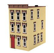 MTH MTH-30-90510 - MTH : O 3 story town house Tan