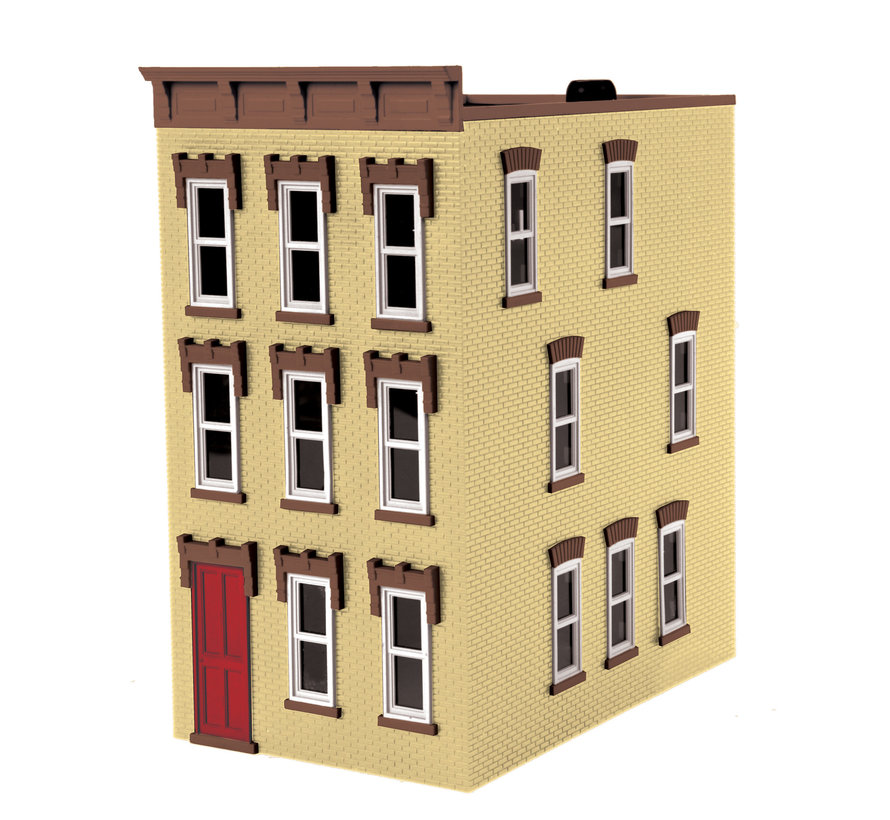 MTH : O 3 story town house Tan