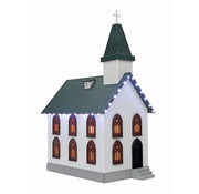 MTH MTH : O Country Church w/Led