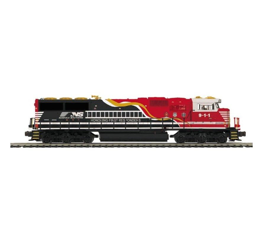 MTH : O NS (respondant) SD60E Diesel