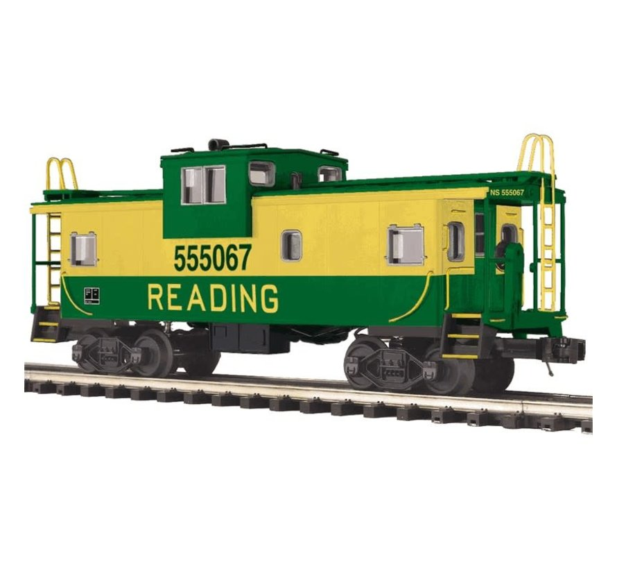 MTH : O Reading Ext Vision Caboose