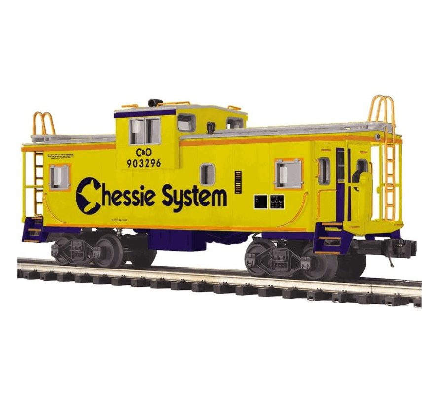 MTH : O Chessie Ext. Vision Caboose
