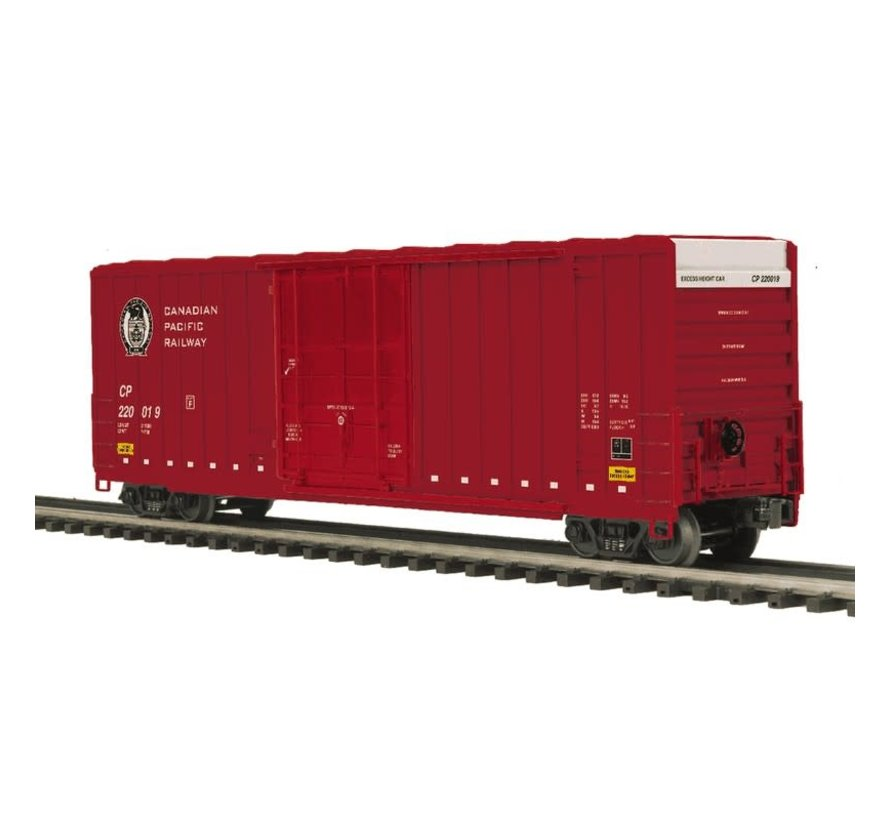 MTH : O 50' Hi-Cube Boxcar CP #220019