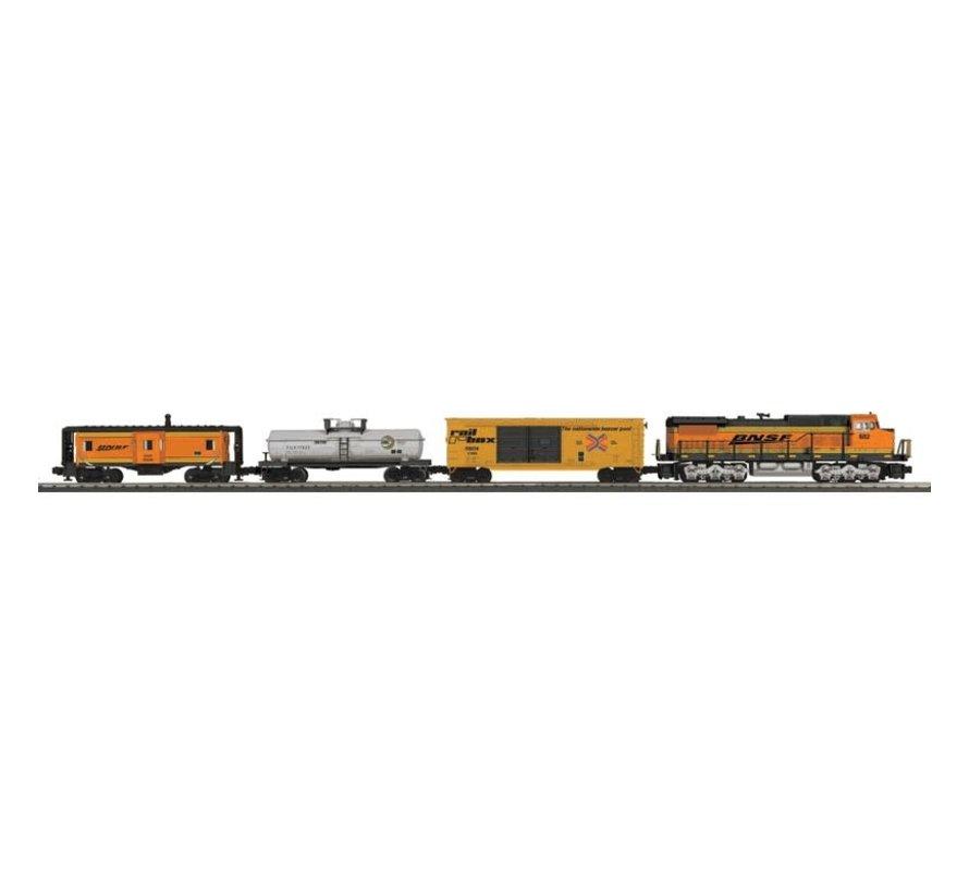 MTH : O WIFI BNSF Dash-8 Diesel RTR Freight Set/3.0