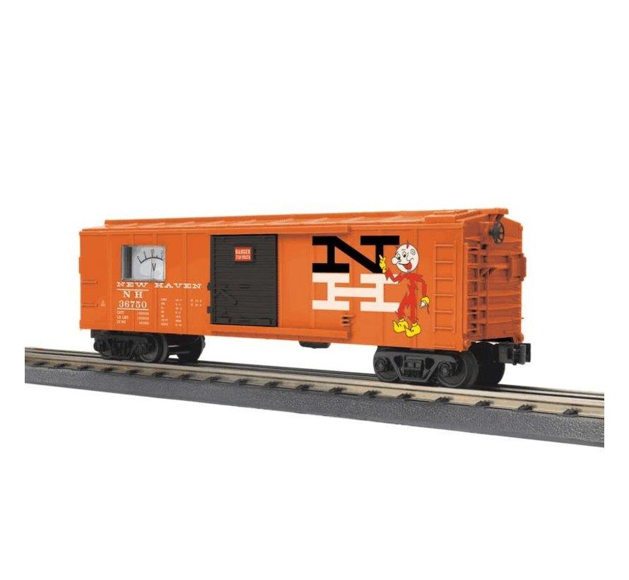 MTH : O NH Box car w/meter
