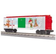 MTH MTH : O Christmas Box Car blinking