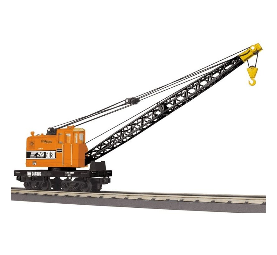 MTH : O NS American Crane Car