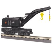 MTH MTH-30-79568 - MTH : O PRR Crane (sold with Tender only)