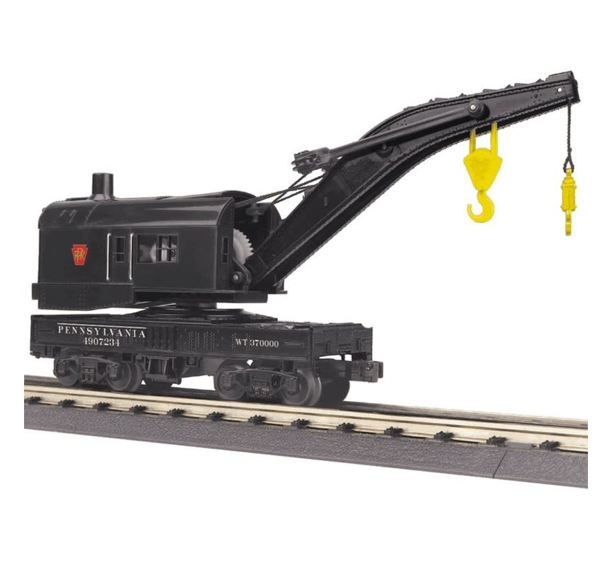 MTH : O PRR Crane (sold with Tender only)