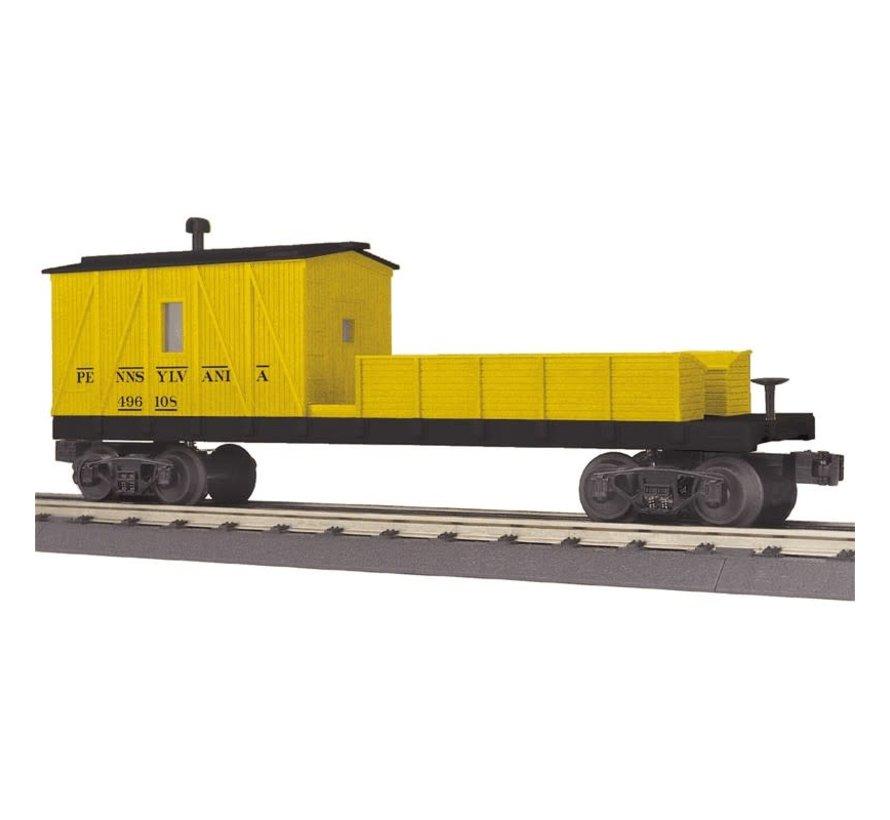 MTH : O PRR Crane Tender