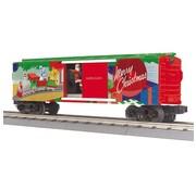 MTH MTH : O Christmas Operating Boxcar