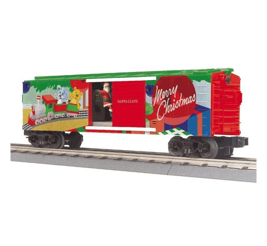 MTH : O Christmas Operating Boxcar