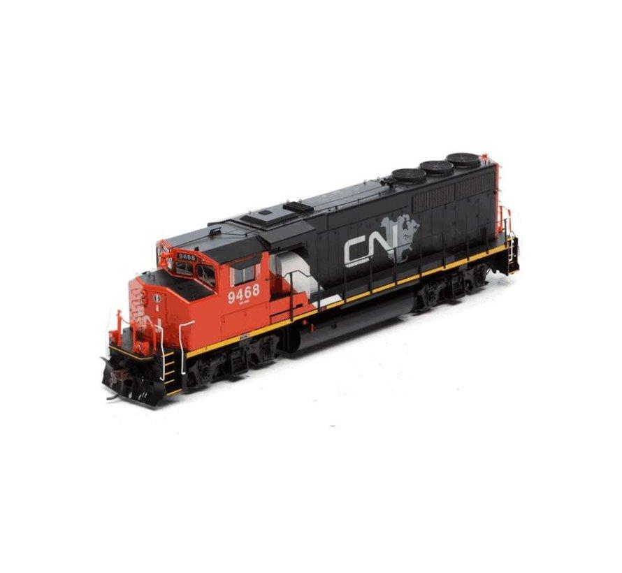 Athearn : HO CN GP40-2L DCC/Son