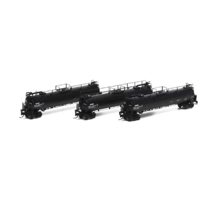 Athearn : N GATX Tank Train