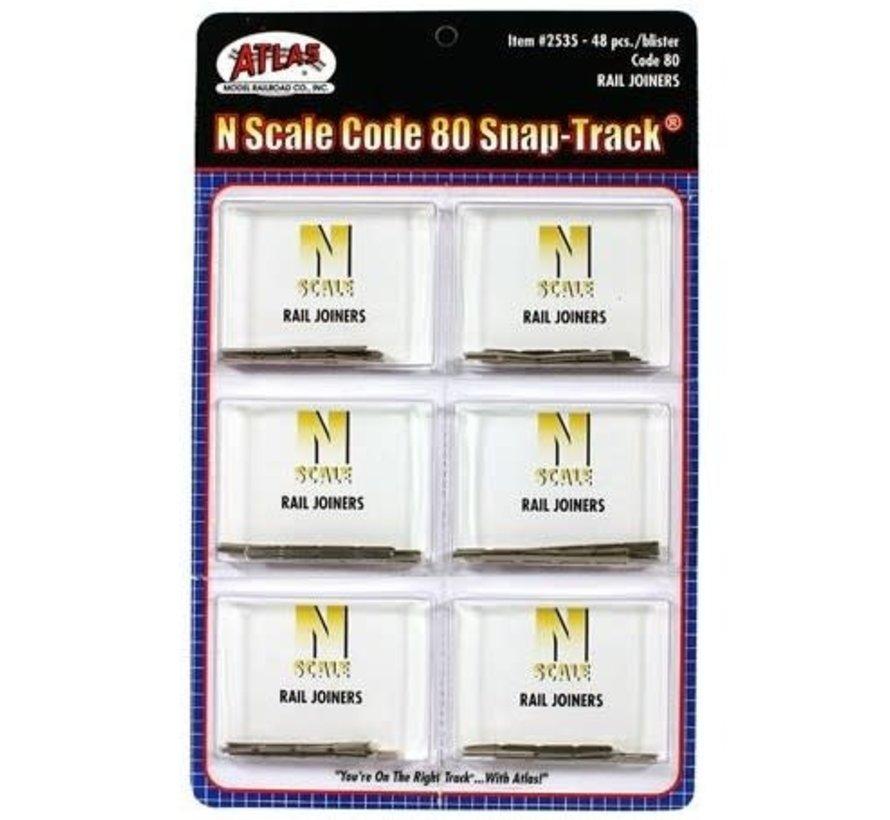 Atlas : N Code 80 Rail Joiners