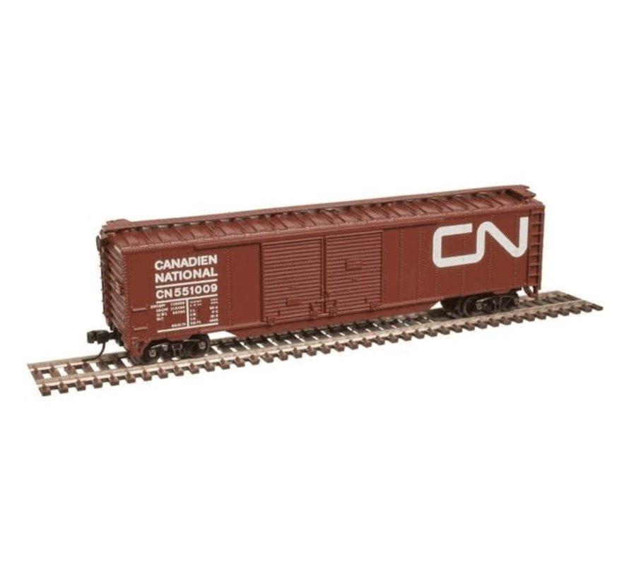Atlas : N CN 50' DD Boxcar #551009