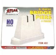 ATLAS ATL-81 - Atlas : HO Bridge Piers Set