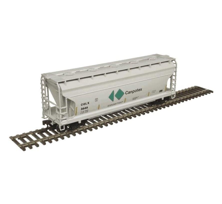 Atlas : HO Trainman 3560 Covered Hopper, CGLX #3583
