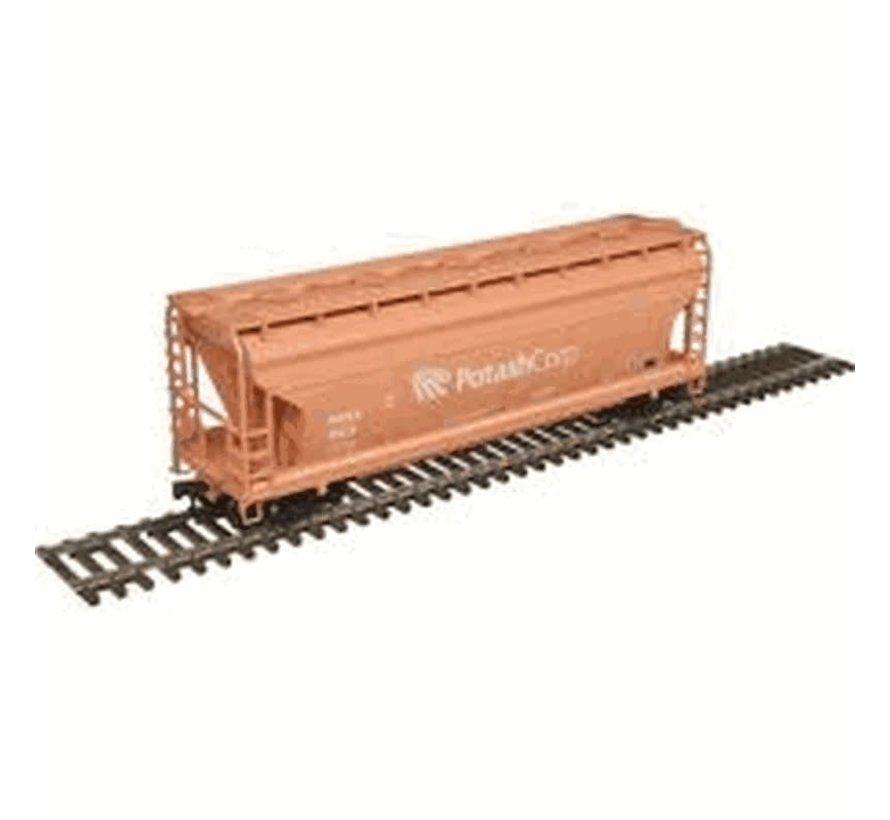 Atlas : HO Trainman 3560 Covered Hopper, Potash Corp #1522