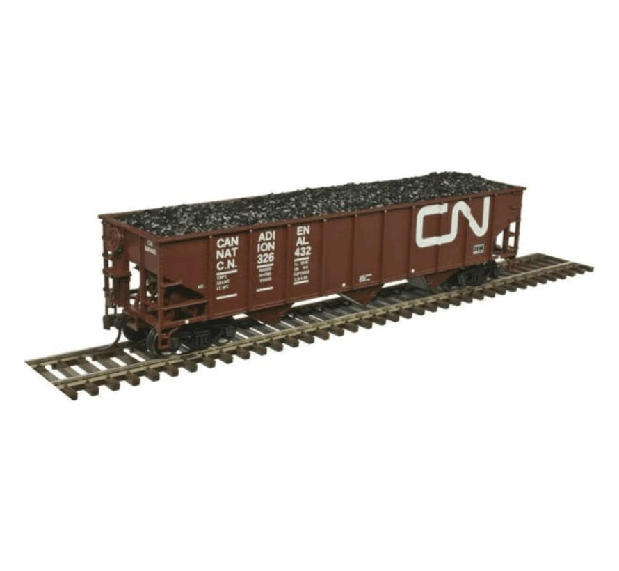 Atlas : HO Trainman 70-Ton 9-Panel Hopper, CN #326432