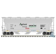 ATLAS ATL-5000-4008 - Atlas : N Trainman 3560 Covered Hopper, Agrium #2166