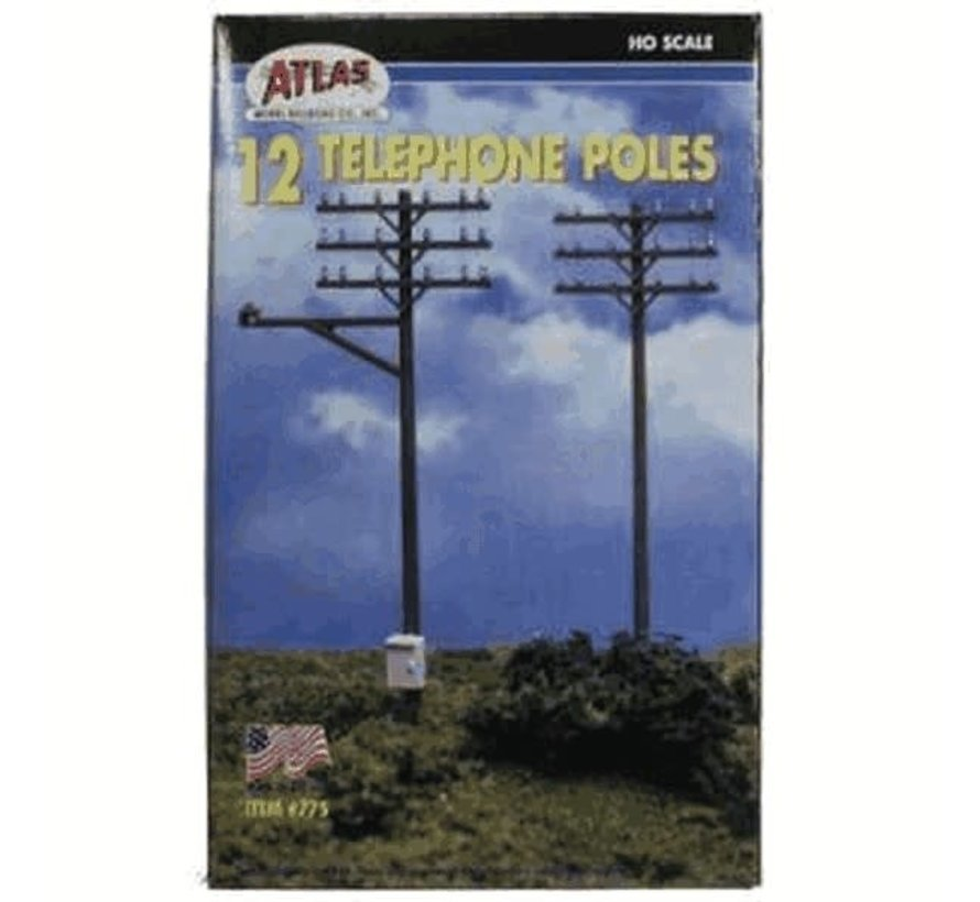 Atlas : HO Telephone pole